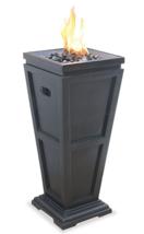 Outdoor Fire Pit Fireplace LP Propane Gas Patio Deck Backyard Heater Tal... - $163.23
