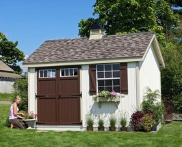 She Shed Woman Cave 8 ft X 8 ft Wooden Storage Shed PreAssembled Paneliz... - $5,784.95