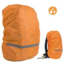 EDOBIL Rainproof Cover Waterproof Backpack Rain Cover with Reflective Strip for