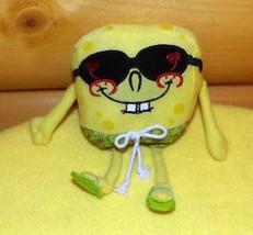 SpongeBob SquarePants Plush Palm Tree Beach Shades Take-Me-Along Pocket Pal - $8.88