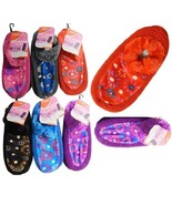 8x Pairs Women COZY FUZZY Non Skid SOLID Rubber Grips SOFT WINTER SLIPPE... - $14.99