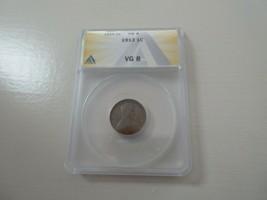 1913 Lincoln Penny , VG 8 , ANACS - $9.90