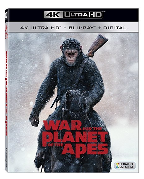 War For The Planet Of The Apes [4K Ultra HD + Blu-ray + Digital, 2017]