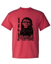 Planet of the Apes original film T-shirt retro vintage sci fi movie heather tee image 2