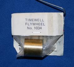 Timewell # 1034 Brass Flywheel HO