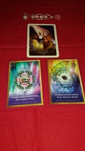 Crystal Mandalas & Divination of the Ancients Reading with THREE CARDS. - $13.99