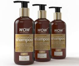 WOW Hair Strengthening No Parabens & Sulphate Shampoo, 300ml Pack of 3 - $51.99