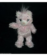 "7"" BUILD A BEAR PINK SASSY KITTY LIL PAL SMALLFRYS STUFFED ANIMAL PLUSH ... - $10.40"