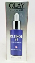 Olay Regenerist Retinol 24 Night Serum Fragrance Free 40 mL 1.3 OZ ORIGI... - $14.99