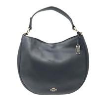 Coach 36026 Nomad Hobo In Glovetan Leather Navy Blue Ladies Bag - $187.16