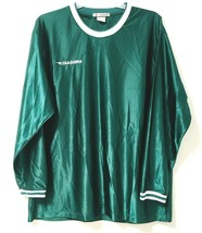 Soccer Jersey Mens XL Diadora Italy Green Long Sleeve Shirt - $22.28