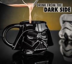 Darth Vader Coffee Cup Star Wars Creative Novelty Ceramic Tea Mug Kitche... - $28.70