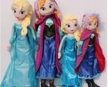 30cm/40cm/50cm Disney-Frozen-Elsa&Anna princess stuffed Soft plush toy doll for+