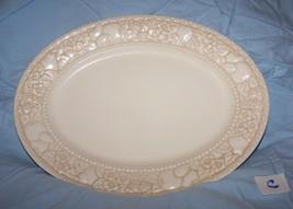 Metlox Poppytrail Vernonware Antiqua Small Oval Platter-Lot C - £11.04 GBP