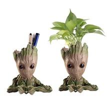 Groot Home Decoration Planter Action Figures Model Creative Garden Plant... - £10.95 GBP+