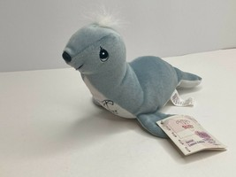 Vtg Precious Moments Easter Seals Tender Tails Seal Plush Stuffed Animal... - $8.46