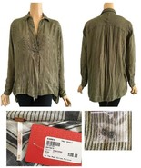 Free People One The Road Striped Tunic Evereve Sage Combo S NWT - $52.00