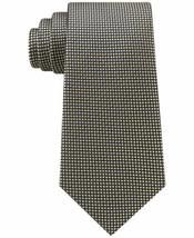 Tommy Hilfiger Men's Navy Micro Silk Tie (Yellow) - $48.46