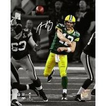 AARON RODGERS AUTOGRAPHED PHOTO 8X10 - $89.00