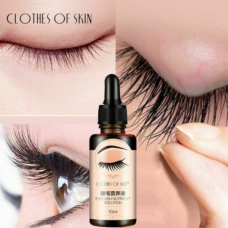 Eyelash Growth Serum Liquid Enhancer Longer Fuller Thicker Lashes Eyelashes Care