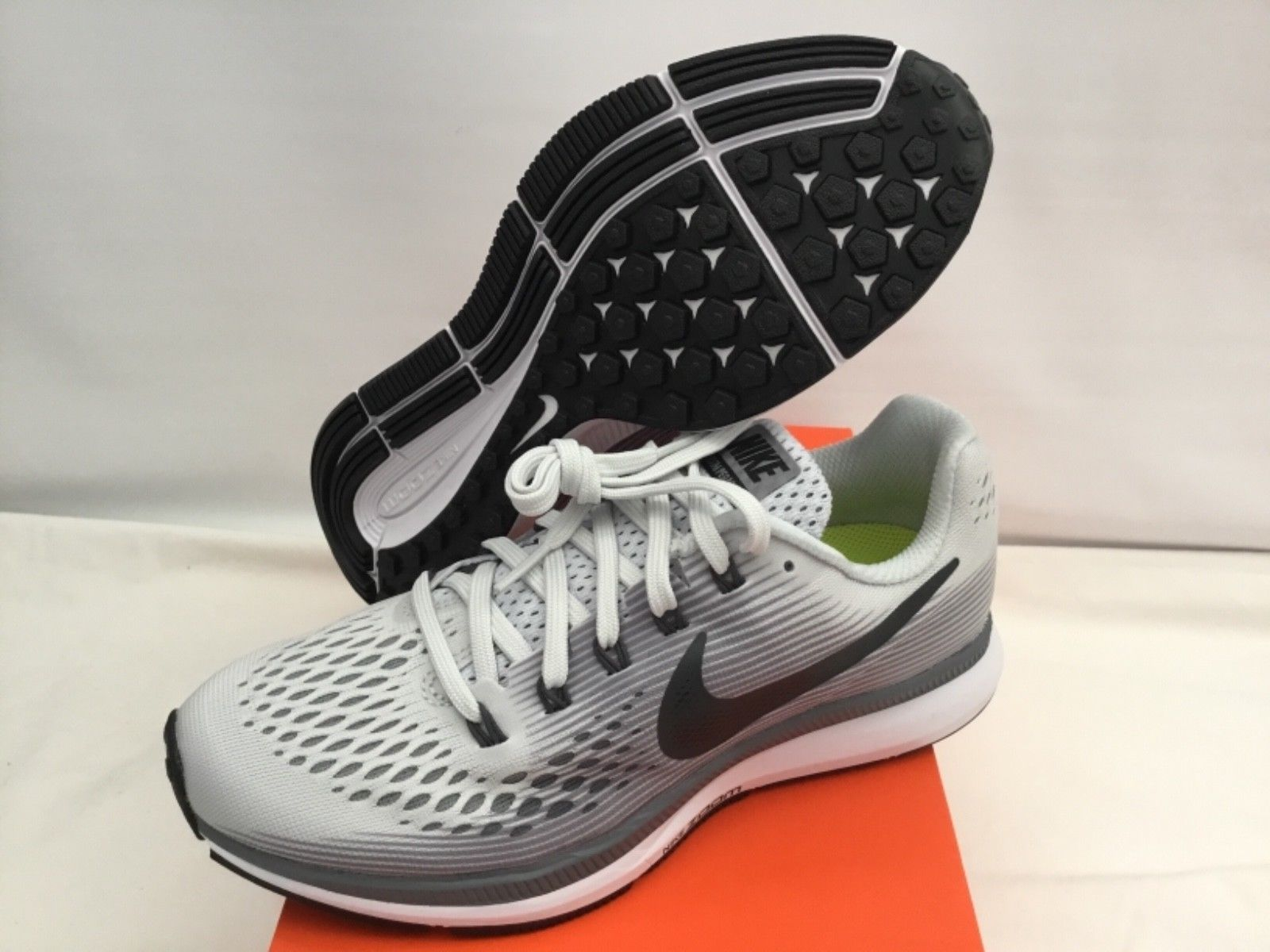 f0305711428fc 57. 57. Nike Womens Air Zoom Pegasus 34 Pure Platinum Anthracite Running  Shoes Size 6.5 · Nike Womens Air Zoom ...