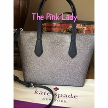 KATE SPADE %Authentic Joeley Smooth Glitter Small Satchel Crossbody Dust... - $92.99 CAD