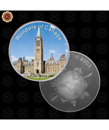 WR Wonders of Canada Peace Tower Design Silver Foreign Coin Collectors /... - $7.41