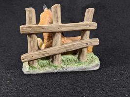 Vintage Homco Horse and Squirrel Ceramic Bisque Figurine image 3
