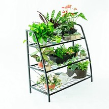 C-Hopetree Pot Plant Stand Indoor Outdoor Plant Display Shelf Shoe (3 Ti... - $97.86