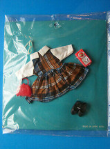 (2) SKIPPER PEPPER SIZE  sIsters of Barbie Tammy PLAID DRESS w/Radio Sho... - $21.78