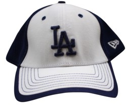 Los Angeles Dodgers LA New Era  39THIRTY Stretch Flex Mesh Cap Hat M-L - $35.99