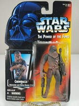 Star Wars The Power Of The Force - Chewbacca (Orange Card) - Kenner 1995 - $10.00