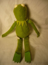 Kermit Muffet Doll Polyester no. 857 Fisher Price  image 2