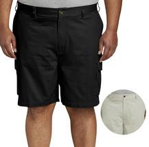 Men's Casual Cotton Utility Pockets Button Flap Work Cargo Shorts Big Sizes