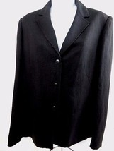 Women's Jones New York Blazer Jacket - Black - Size 12 - $28.01