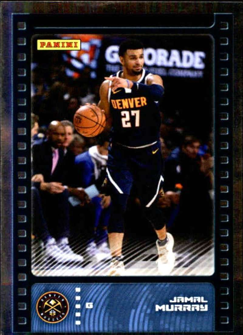 Primary image for 2019-20 Panini NBA Sticker Box Standard Size Silver Foil Insert #4 Jamal Murray