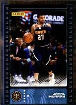 2019-20 Panini NBA Sticker Box Standard Size Silver Foil Insert #4 Jamal Murray  - $4.49