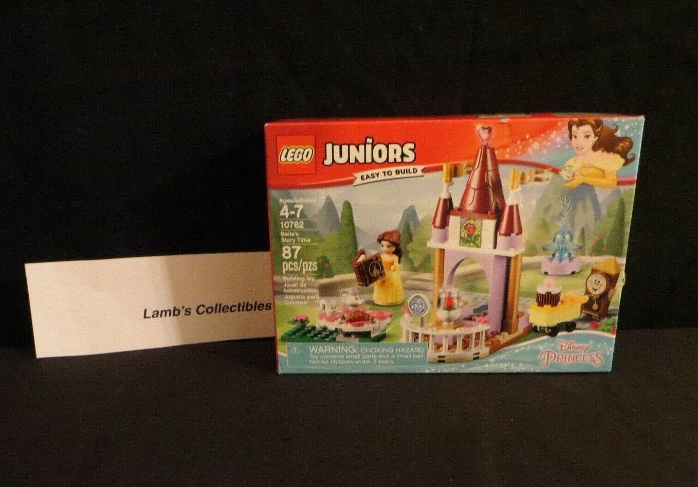 Primary image for Belle's Story time Lego Juniors Disney set 10762 - 87 pieces building bricks toy