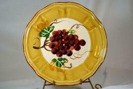 "Tabletops Gallery Italian Grapes 10 7/8"" Dinner Plate - $9.00"
