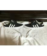 "Adidas Men's Black & White 3 Stripes Sneakers 791004 EVH Size 5.5""  - $18.00"