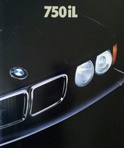 1989/1990 BMW 750iL V12 sales brochure catalog US 89 HUGE - $15.00