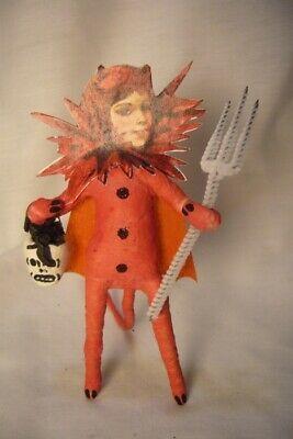Vintage Inspired Spun Cotton, SheDevil  Halloween  254R
