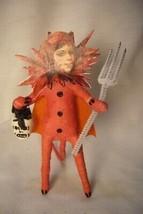 Vintage Inspired Spun Cotton, SheDevil  Halloween  254R image 1