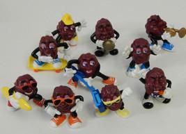 1987-88 Set 10 +6 California Raisins Rare Calrab Applause PVC Figures - $22.43