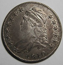 1810 Capped Bust Half Dollar 50¢ Coin Lot# MZ 4136