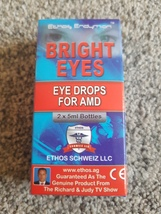 Ethos Bright Eyes NAC Eye Drops for Age-related Macular Degeneration 10ml  - $82.97