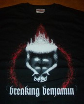 BREAKING BENJAMIN FLAMES  BAND T-Shirt XL NEW - $19.80