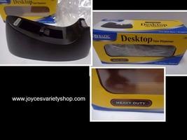 Bazic Office Tape Dispenser NIB Desktop Heavy Duty Black - $14.99