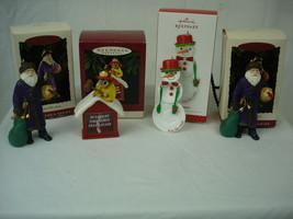 4 Hallmark Keepsake Christmas Ornaments 1995 North Pole 911 Merry Olde S... - £14.34 GBP