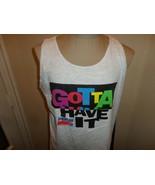 Vtg 90's Gotta Have it Pepsi MTV Sports Festival Tank Top Belton t-Shirt... - $49.49